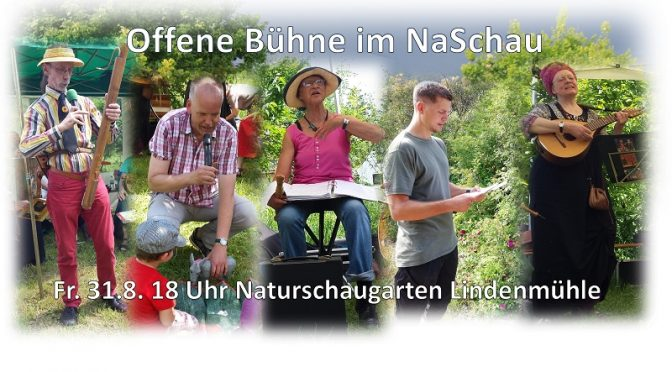 Freitag, 31.8. – Offene Bühne im NaSchau!