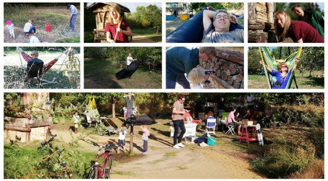 Ein Tag zum Mitmachen und zum Relaxen im Naturschaugarten
