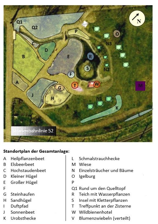 Standortplan