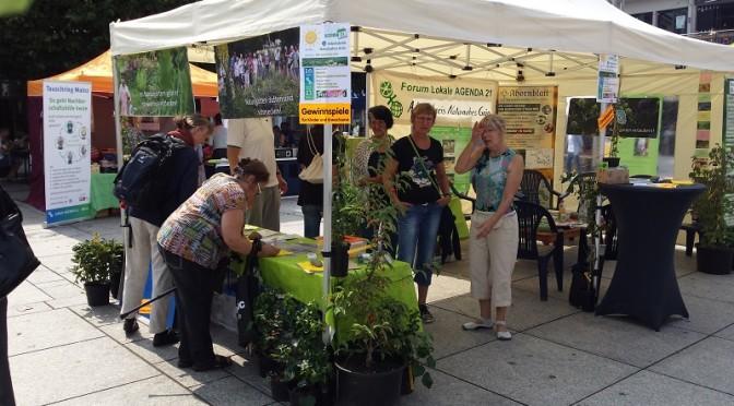 20 Jahre Lokale AGENDA 21 – auf dem Sonnenmarkt