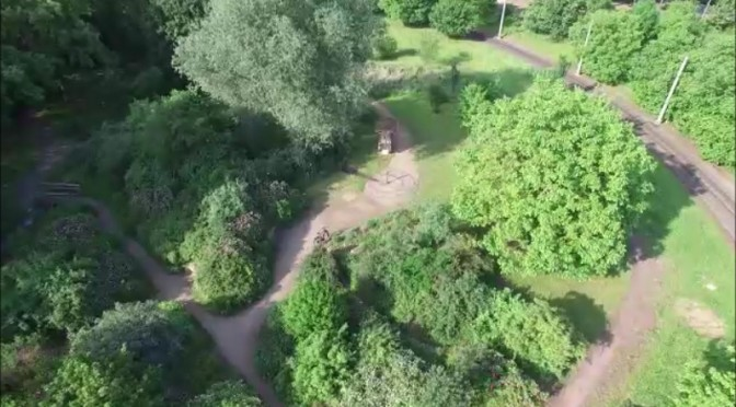 Luftaufnahmen vom Naturschaugarten Lindenmühle