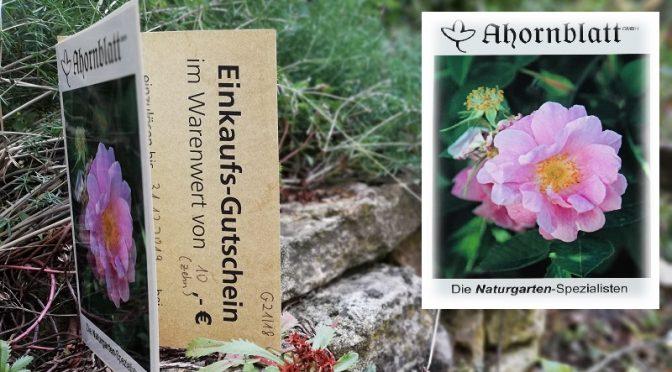 Die glücklichen Gewinner des Preisrätsels zum Naturschaugarten sind ...