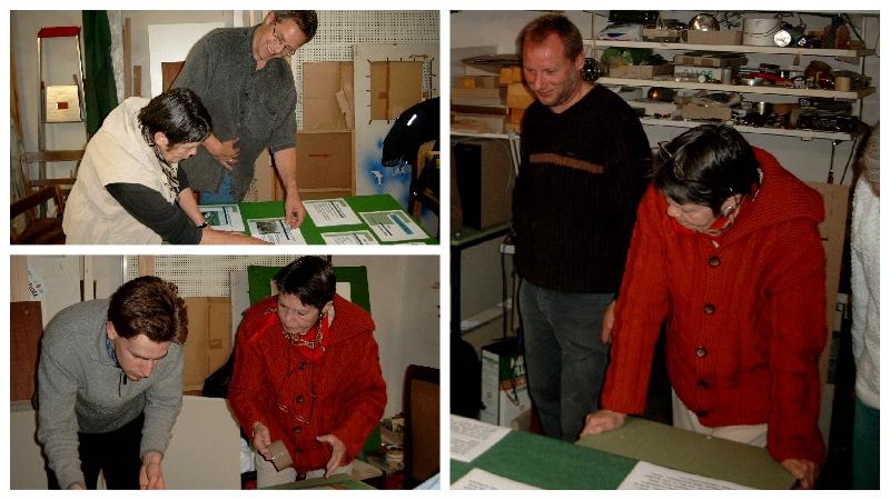 Der Arbeitskreis Naturnahes Grün fertigte 2000 viel Ausstellungsmaterial.