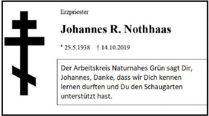 Danke, Johannes