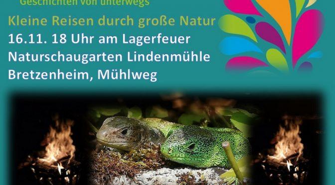 Mainz liest bunt – Kleine Reisen durch große Natur