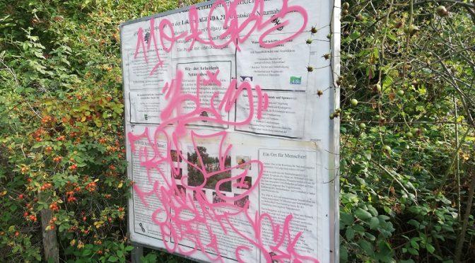 Graffiti – Schmierereien