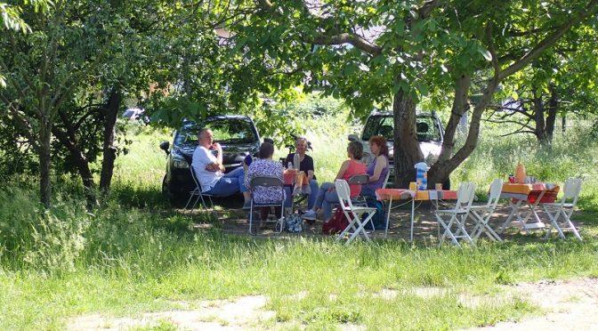 Tisch im Garten – eine einladung für den 13.8.
